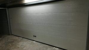 Porte sectionnelle SERENA sous sol