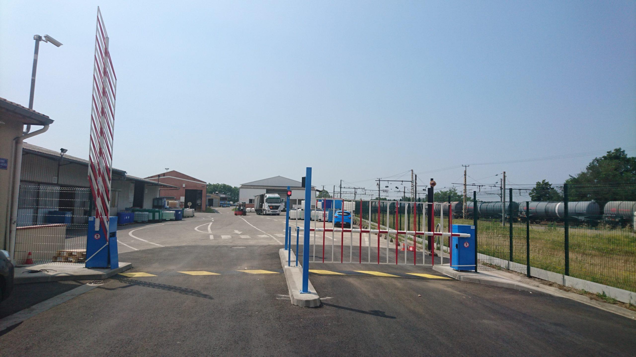 barriere à herse